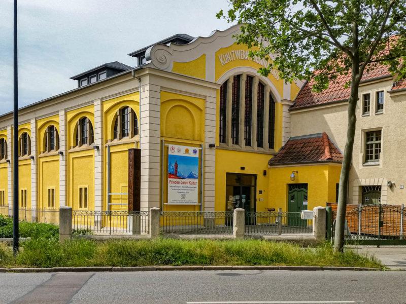 Bild von Kunstwerk Turbinenhaus, Naumburg
