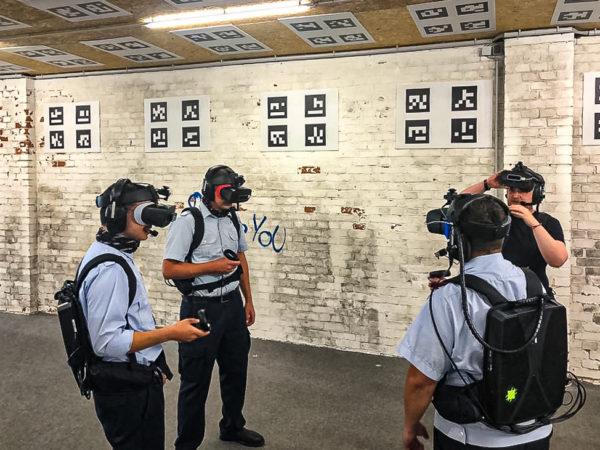 VR-Erlebnis in der Nudelfabrik